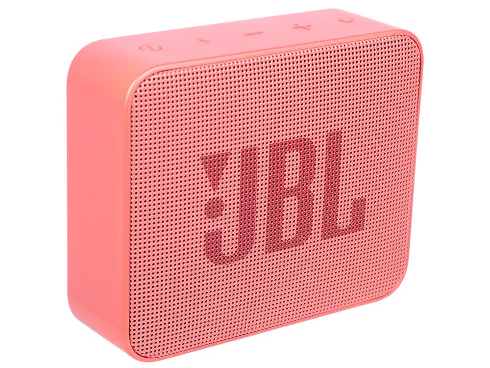 Портативная колонка JBL GO 2 JBLGO2CINNAMON светло коричневый Беспроводная акустика / 3 Вт / Bluetooth 4.1 / Влагозащита портативная bluetooth колонка jbl go 2 orange