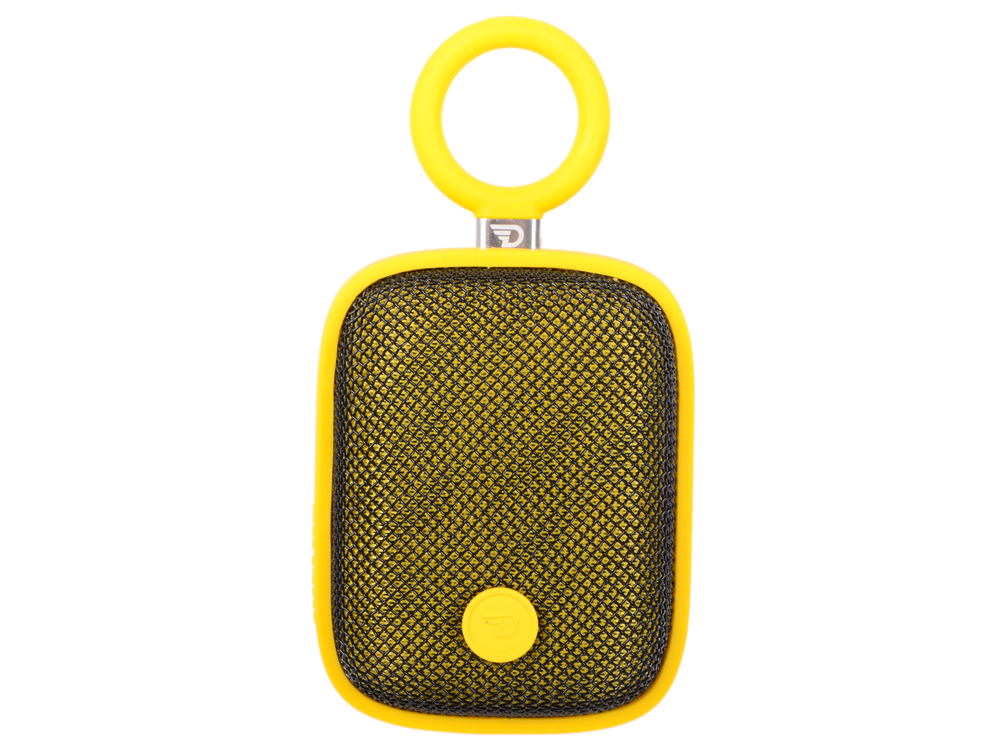 Портативная колонка DREAMWAVE Bubble pods yellow 5 Вт, 100-18000 Гц, Bluetooth, mini Jack, IPX5, батарея, USB