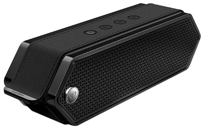Портативная колонка DREAMWAVE Harmony II black 16 Вт, 80–18000 Гц, микрофон, Bluetooth, mini Jack, батарея, USB портативная колонка max q71 black red 30054 20 вт 100 18000 гц bluetooth mini jack jack usb micro sd батарея