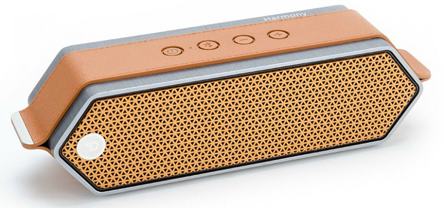 Портативная колонка DREAMWAVE Harmony II orange 16 Вт, 80–18000 Гц, микрофон, Bluetooth, mini Jack, батарея, USB a201 desktop mini cooling usb fan with 4 speed wind orange