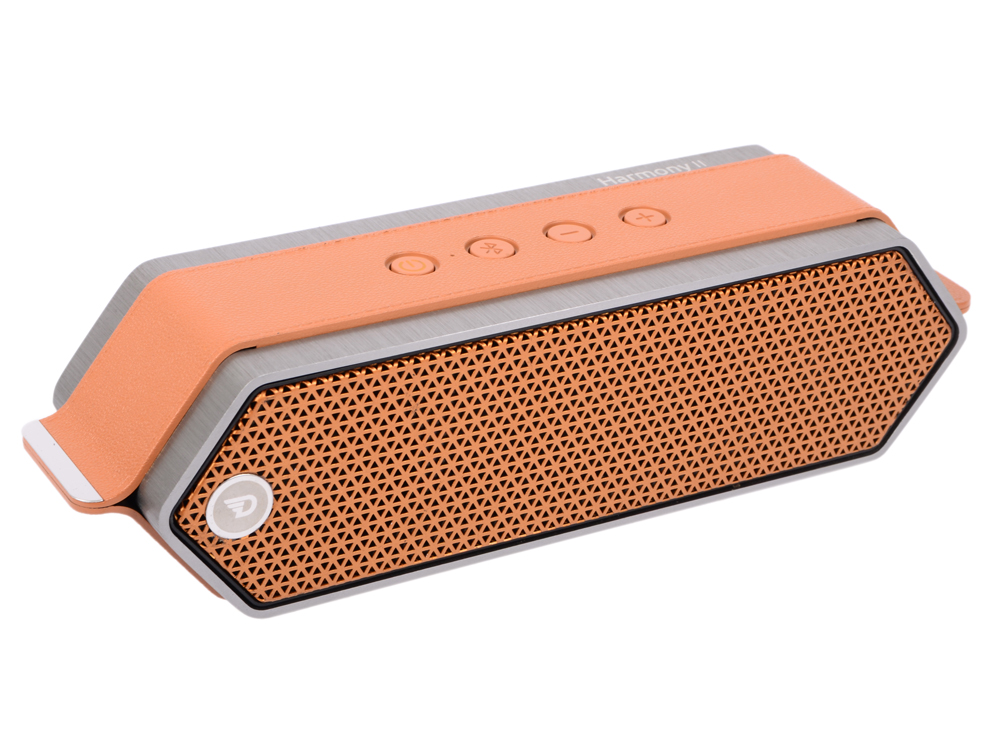 Портативная колонка DREAMWAVE Harmony II orange 16 Вт, 80–18000 Гц, микрофон, Bluetooth, mini Jack, батарея, USB все цены