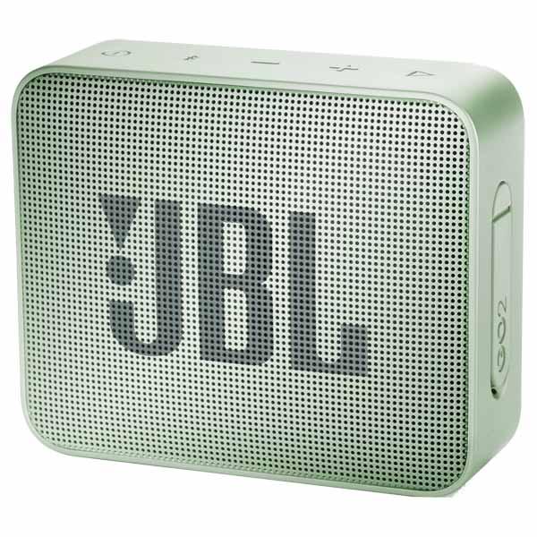 Портативная колонка JBL GO2 JBLGO2MINT светло-зеленый Беспроводная акустика / 3 Вт / Bluetooth 4.1 / Влагозащита