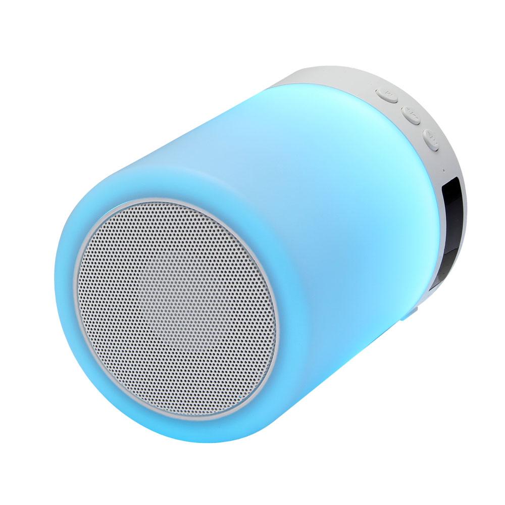 Беспроводная BT-Колонка GiNZZU® GM-893W 5 Вт, 20-20000 Гц, Bluetooth, mini Jack, батарея, USB, часы, будильник цена и фото