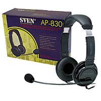 цена на Гарнитура SVEN AP-830 с регулятором громкости