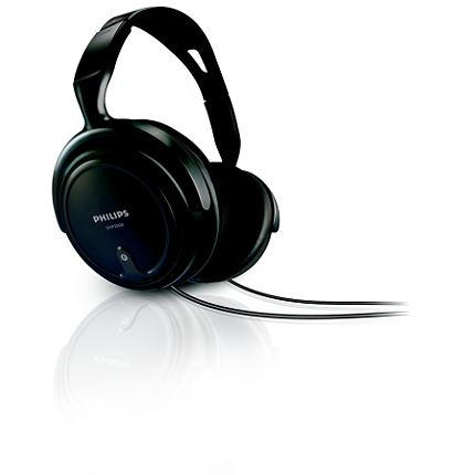 SHP2000/10 наушники philips shp2000 black