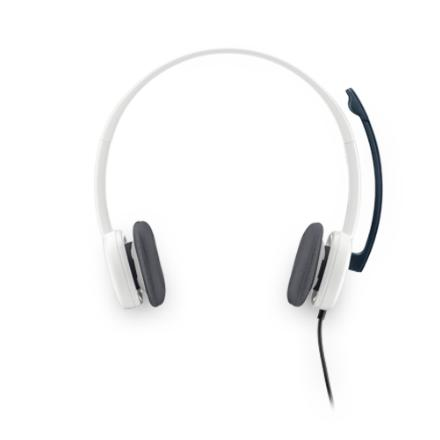 (981-000350) Гарнитура Logitech Stereo Headset H150, CLOUD WHITE