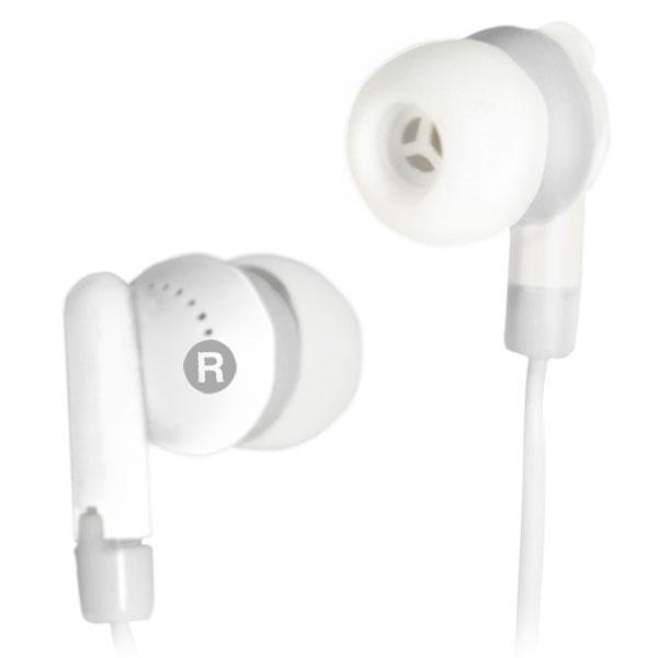 Наушники Ritmix RH-010 white Проводные / Внутриканальные / Белый / 20 Гц - 20 кГц / 80 дБ / Двухстороннее / Mini-jack / 3.5 мм ritmix rh 010 white