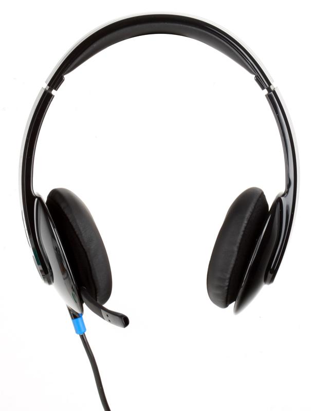 (981-000480) Гарнитура Logitech Headset H540 USB hl good quality original wireless headset bluetooth headphone headband headset with fm tf led indicators for iphone cell phone