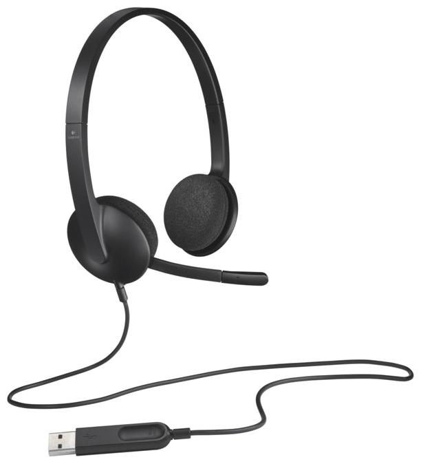 все цены на (981-000475) Гарнитура Logitech Headset H340 USB