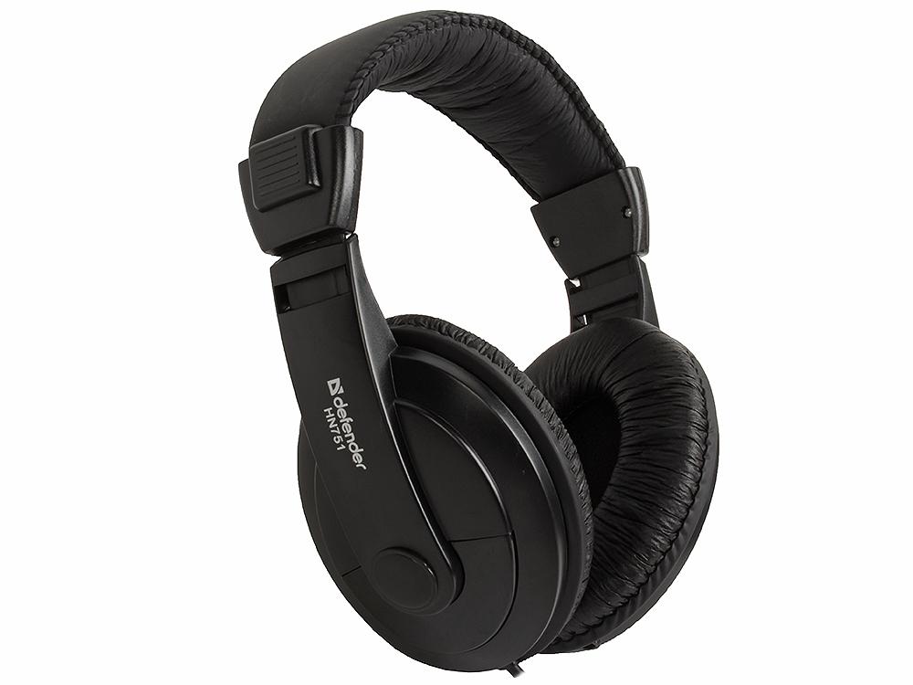 Наушники Defender Gryphon HN-751 Регулят. громк., 2м кабель