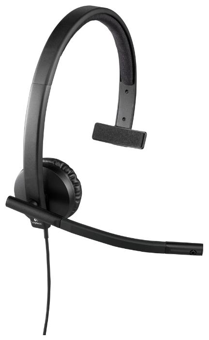 Картинка для (981-000571) Гарнитура Logitech Headset H570e MONO USB
