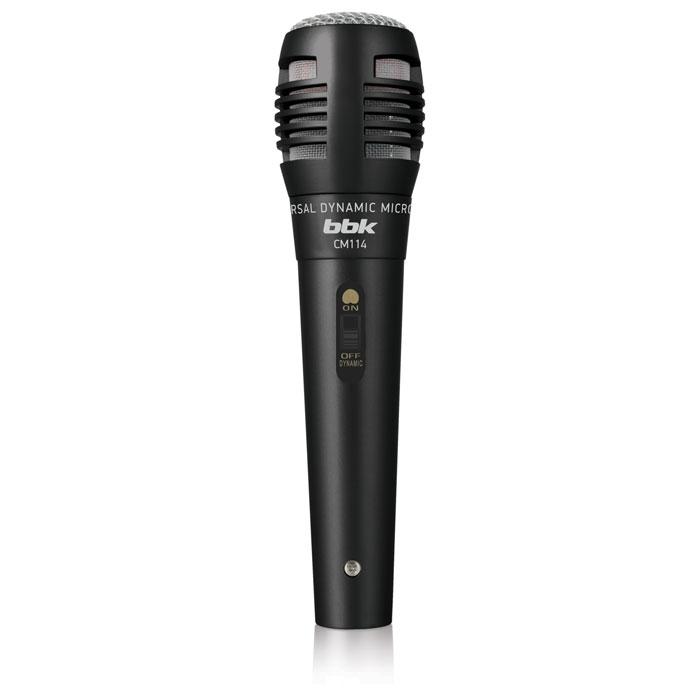 цена на Микрофон BBK CM114 черный