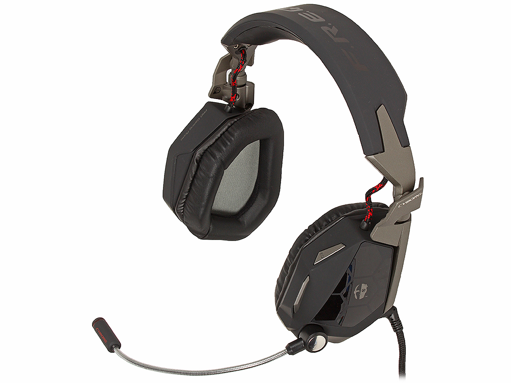 Гарнитура Saitek Mad Catz Cyborg F.R.E.Q. 5 Stereo Headset Mylar /PET 50mm