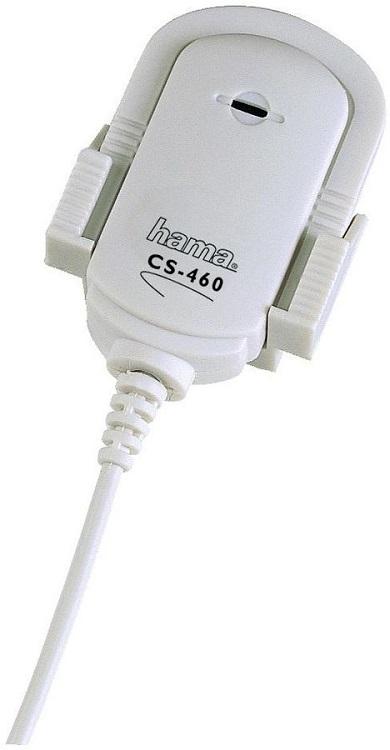 Микрофон Hama CS-460 H-42460 с зажимом держатель для монитора 3.5 мм серый