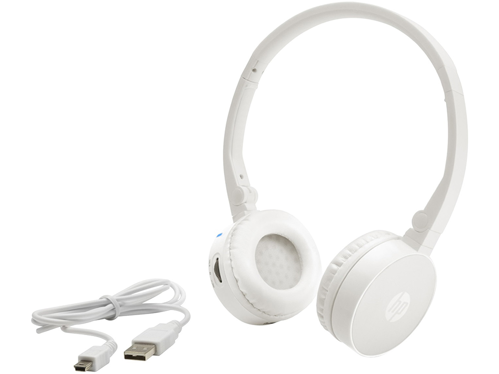 Гарнитура HP Wireless Stereo Headset H7000 (White) Bluetooth (G1Y51AA#ABB) new wireless headband bluetooth headset s33 sprot stereo noise headphone high quality dj earphone with micphone for all phone pc