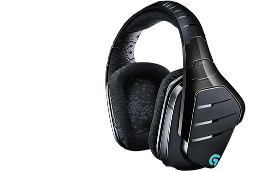 (981-000599) Гарнитура Logitech Gaming Headset Wireless 7.1 Surround G933 hl good quality original wireless headset bluetooth headphone headband headset with fm tf led indicators for iphone cell phone