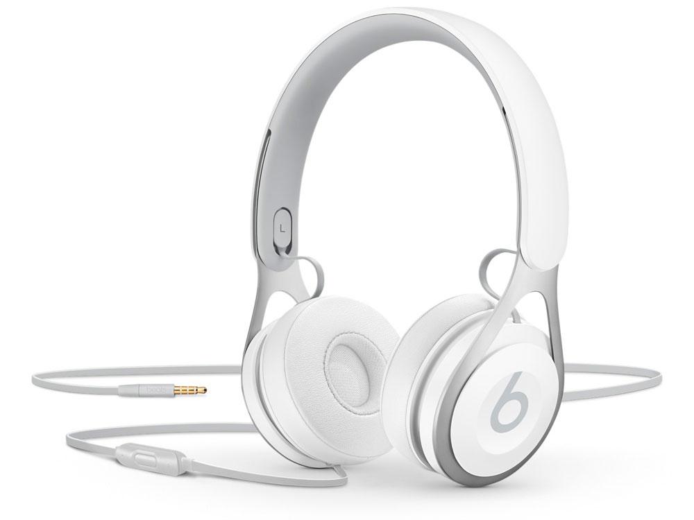 Наушники Apple Beats EP белый ML9A2ZE/A наушники apple beats solo 2 luxe edition серебристый mla42ze a