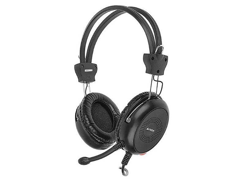 Гарнитура A4Tech HS-30 3.5 мм черный гарнитура hama hs 101 черный 53971 53999
