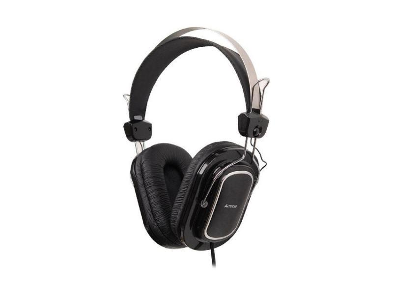 Гарнитура A4Tech HS-200 3.5мм черный a4tech hs 200
