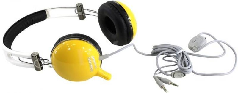 все цены на Гарнитура Cosonic CD-668MV желтый онлайн