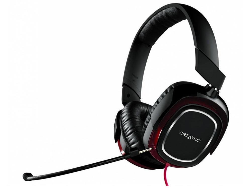 Гарнитура Creative HS 880 Draco черно-красный 51EF0700AA001 creative hs 450