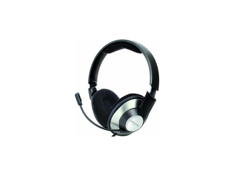 Гарнитура Creative HS-620 черно-серебристый 51EF0390AA002 creative hs 450