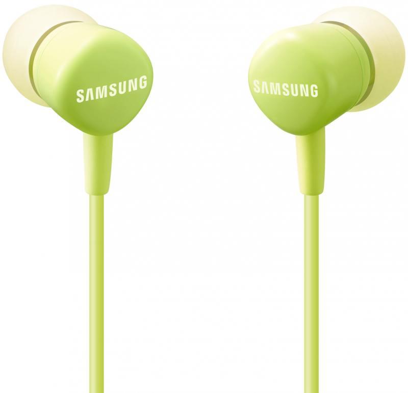 Гарнитура проводная Samsung EO-HS1303GEGRU 3.5мм зеленый