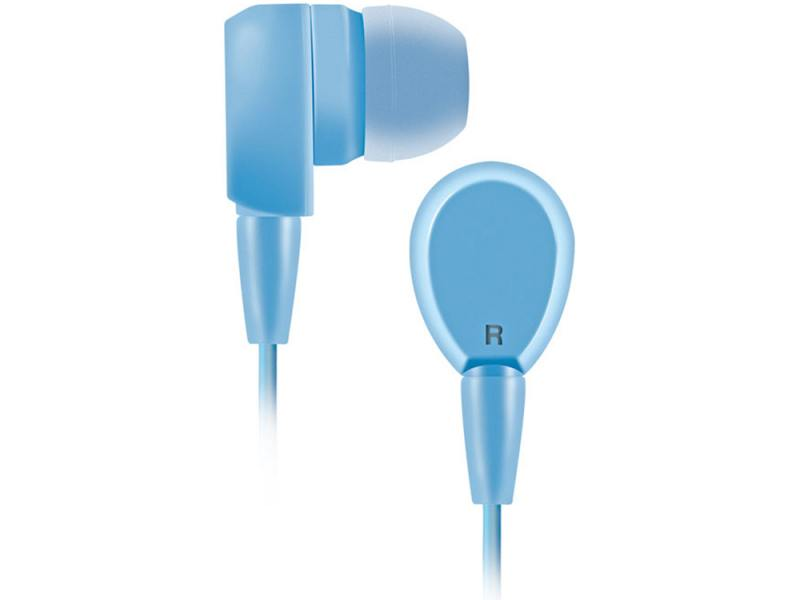 Наушники BBK EP-1430S голубой проводные наушники bbk ep 1401s white