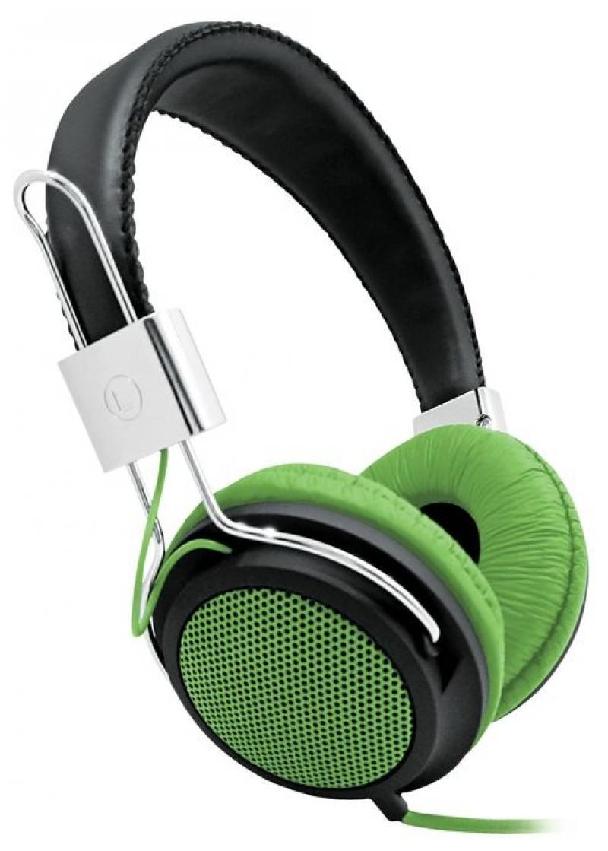 Наушники BBK EP-3500S черно-зеленый. Производитель: BBK, артикул: 0436440