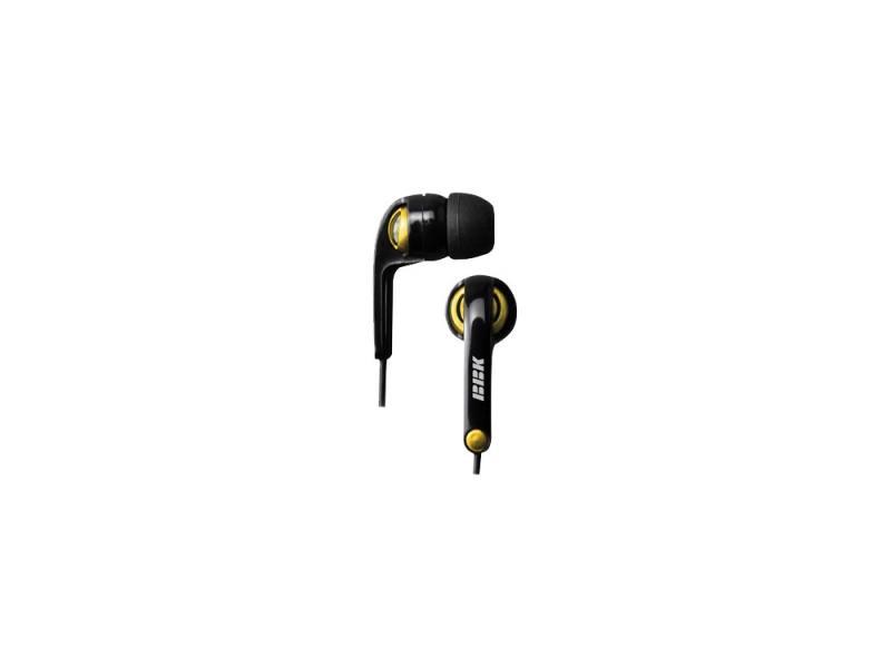 Наушники BBK EP-1250S вкладыши черно-желтый