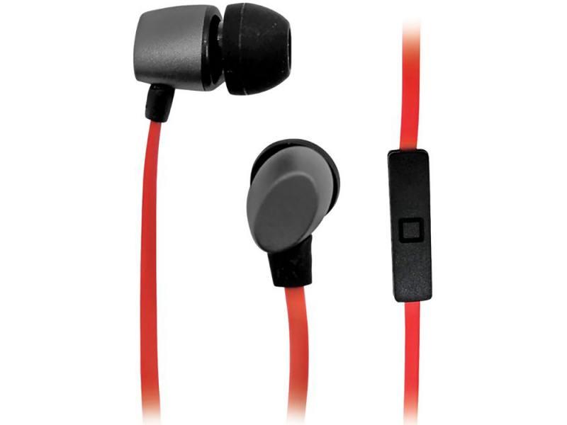 Наушники BBK EP-1560S черно-красный