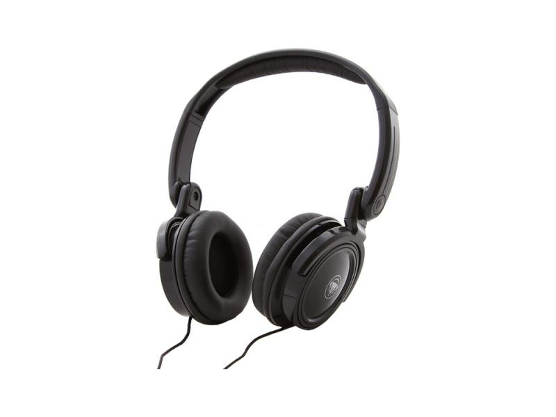 Наушники Konoos KNS-NN-200 S Проводные / Полноразмерные с микрофоном / Черный / 20 Гц - 20 кГц / 105 дБ / Двустороннее / Mini-jack / 3.5 мм