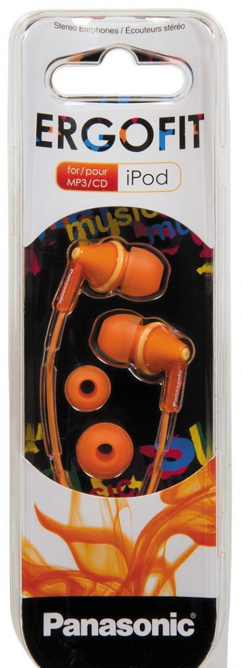 все цены на Наушники Panasonic RP-HJE125E-D оранжевый онлайн