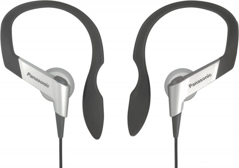 Наушники Panasonic RP-HS6E-S серебристый panasonic rp hs6e s earphones headset clip neodymium magnet for rich and dramatic sound soft and comfortable ear arch elastomer