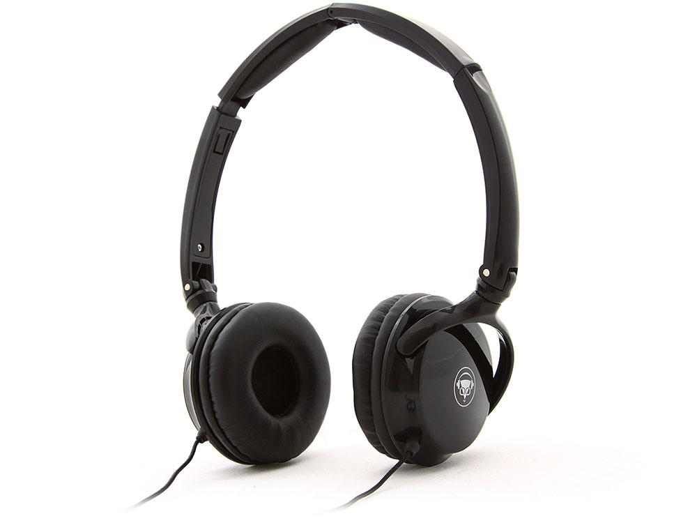 Наушники Konoos KNS-NN-300 S Проводные / Накладные с микрофоном / Черный / 20 Гц - 20 кГц / 115 дБ / Двухстороннее / Mini-jack / 3.5 мм
