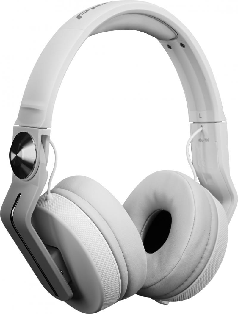 Наушники Pioneer HDJ-700-W белый цена и фото