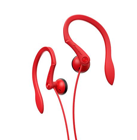 Наушники Pioneer SE-E511-R красный наушники pioneer se e511 белый se e511 w