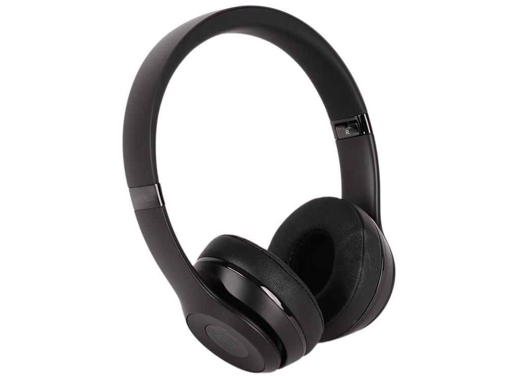 Наушники Apple Beats Solo3 Wireless черный MP582ZE/A наушники apple beats solo 2 luxe edition серебристый mla42ze a