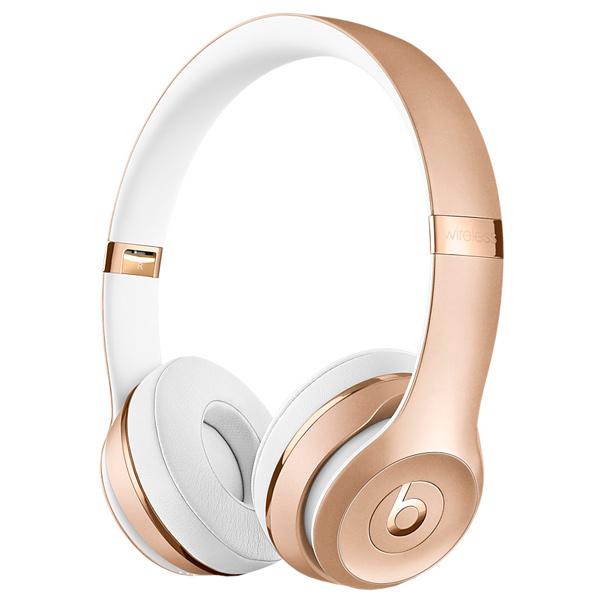 Наушники Apple Beats Solo3 Wireless золотистый MNER2ZE/A наушники beats solo3 wireless on ear headphones rose gold