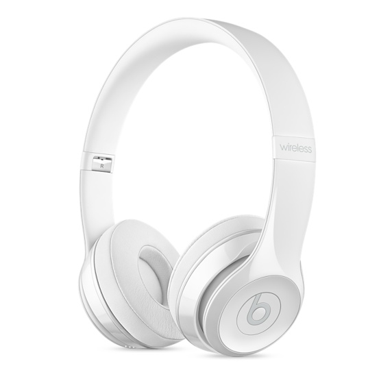 Наушники Apple Beats Solo3 белый MNEP2ZE/A bluetooth гарнитура beats solo3 wireless белый глянец mnep2ze a