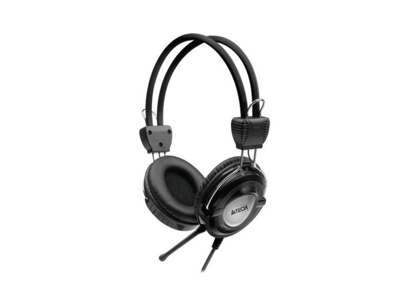 все цены на Гарнитура A4Tech HS-19-1 серый онлайн
