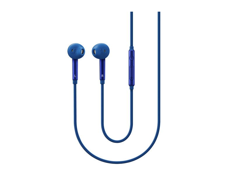 Гарнитура проводная Samsung EO-EG920L 3.5мм синий наушники внутриканальные samsung eo eg920l black eo eg920lbegru