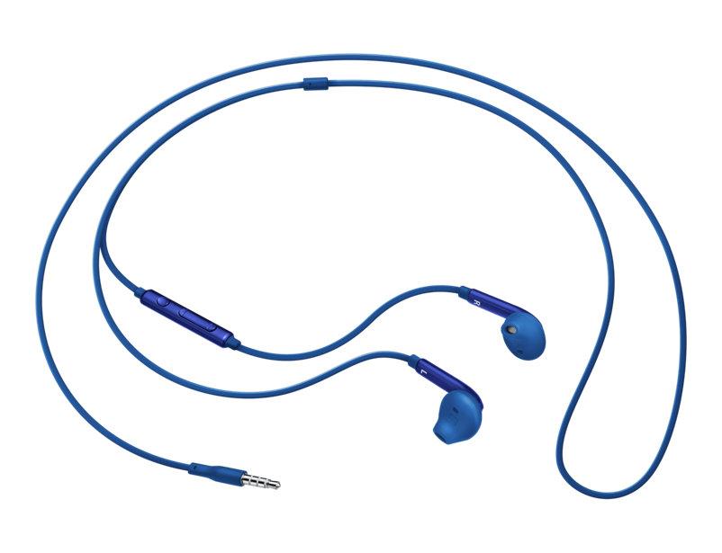 все цены на Гарнитура проводная Samsung EO-EG920L 3.5мм синий онлайн