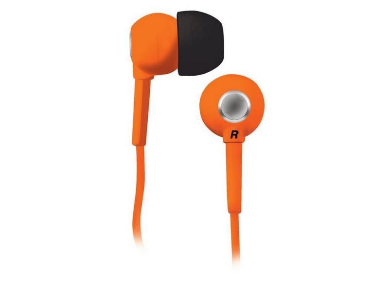 Наушники BBK EP-1200S вкладыши оранжевый цена и фото