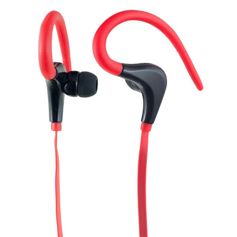 Наушники Perfeo Fitness красный/черный F-FNS-RED/BLK Проводные / Внутриканальные / Красный / 20 Гц - 20 кГц / 100 дБ / Двухстороннее / Mini-jack / 3.5 мм наушники perfeo fitness pf fns blk проводные внутриканальные черный 20 гц 20 кгц 100 дб двухстороннее mini jack 3 5 мм
