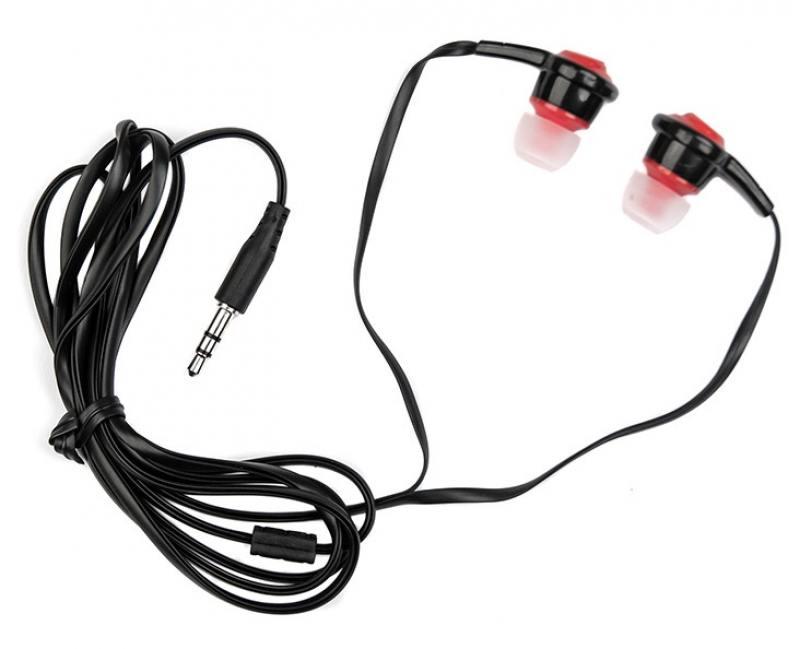 Наушники Dialog EP-50 Проводные / Внутриканальные / Черный, красный / 20 Гц - 20 кГц / Двухстороннее / Mini-jack / 3.5 мм наушники dialog ep 30 белый