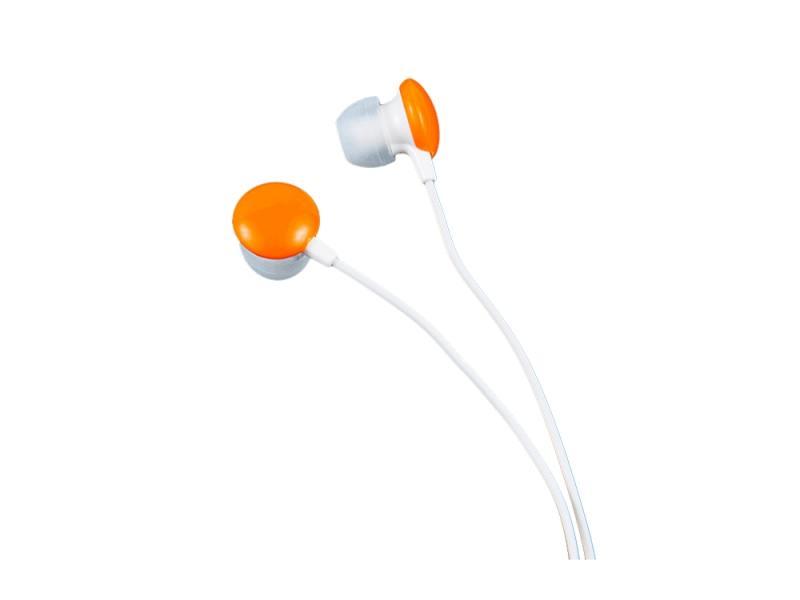 Наушники Perfeo CANDY Проводные / Внутриканальные / Оранжевый / 20 Гц - 20 кГц / 100 дБ / Двухстороннее / Mini-jack / 3.5 мм наушники ritmix rh 125 черный оранжевый проводные внутриканальные черный оранжевый 20 гц 20 кгц 92 дб двухстороннее mini jack 3 5 мм