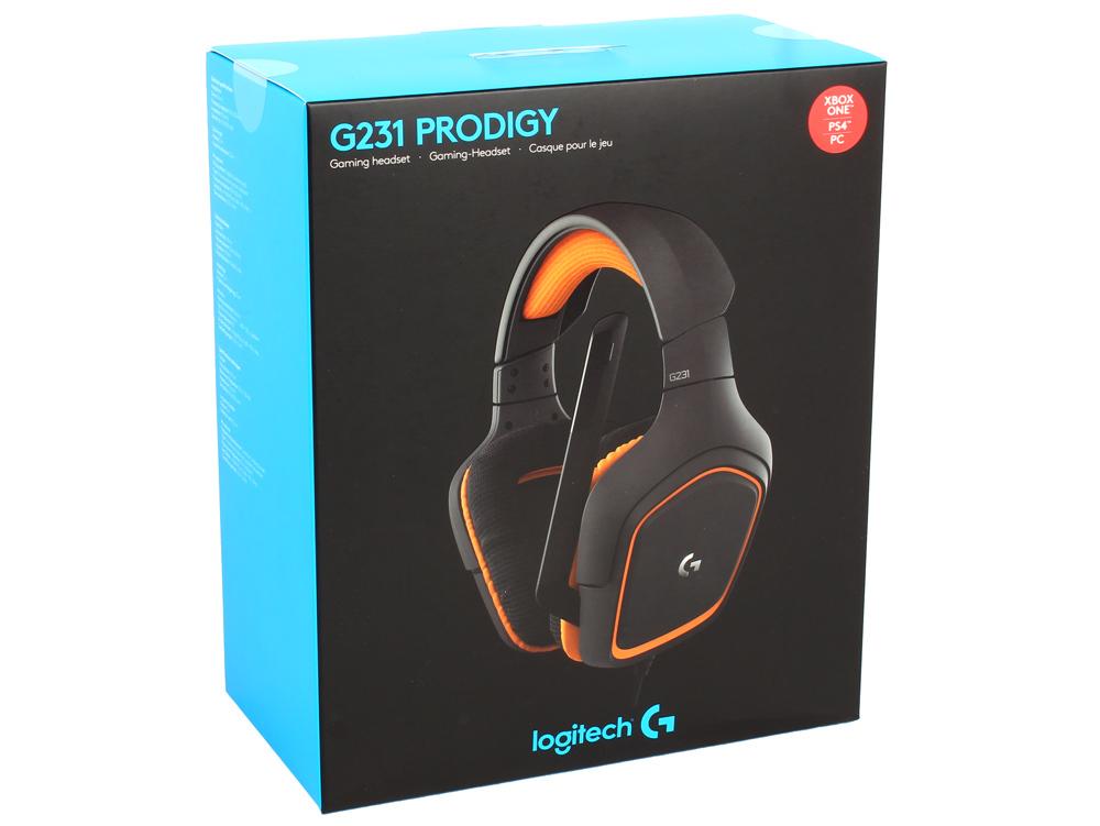 где купить (981-000627) Гарнитура Logitech Gaming Headset G231 Prodigy дешево