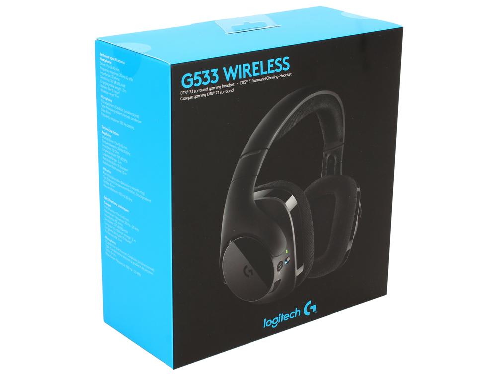 все цены на (981-000634) Гарнитура Logitech Gaming Headset G533 онлайн