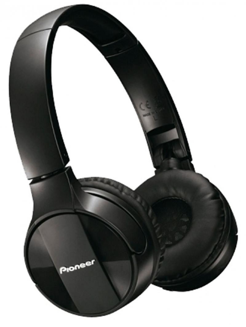 Гарнитура Pioneer SE-MJ553BT-K черный гарнитура pioneer se ltc3r k черный